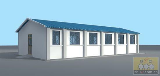 详细的猪场建设方案 设计图